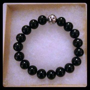 Jewelry - Onyx Agate Stone Bracelet